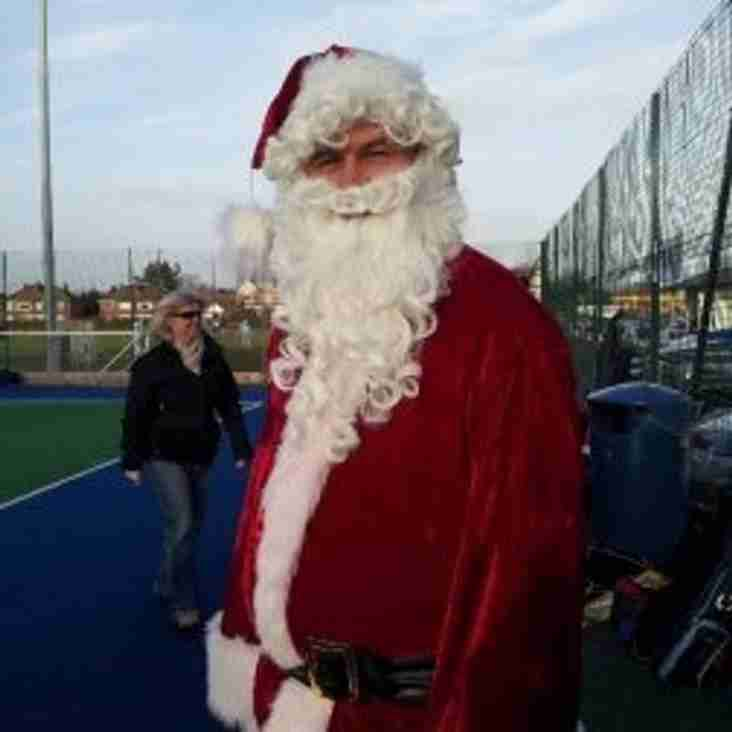 Festive social games (replace senior training) Tuesday 18th December 7.30pm - 9.00pm