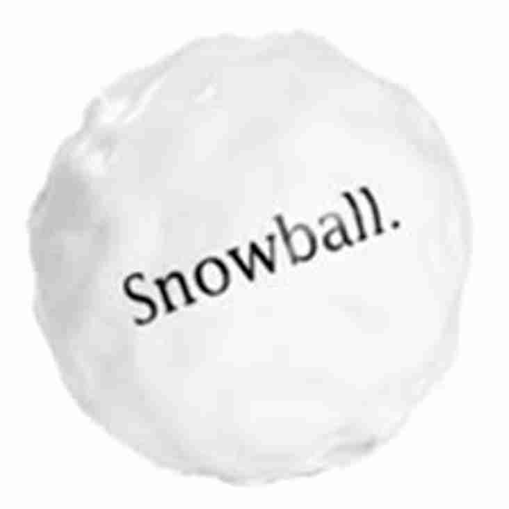 Forget the Frost its a £300 Snowball  on Saturday 16th December !