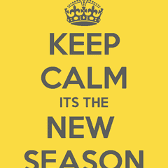 Get ready for the new season - Part 3 - it's nearly here !