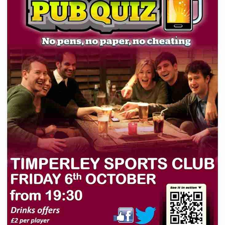 TSC - Smartphone  Pub Quiz Friday 6th October 2017