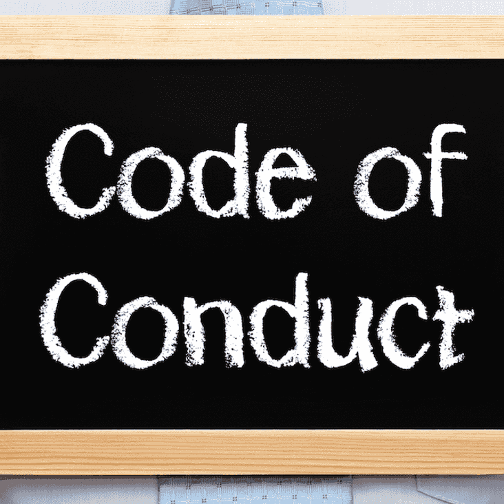 THC Code of Conduct and Disciplinary Code - reminder for all THC folks