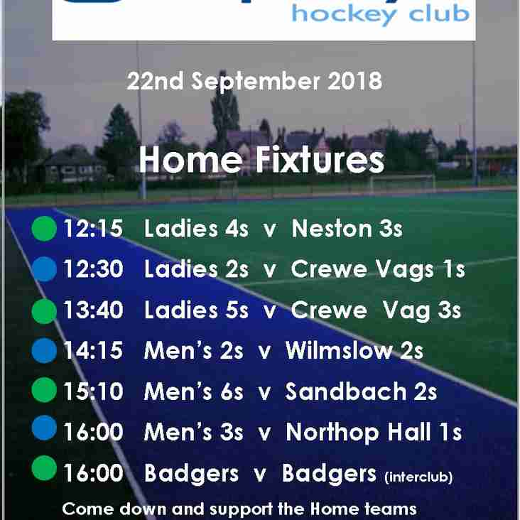 Weekly Update - bumper weekend's hockey ahead- catch up with this weeks news from THC !