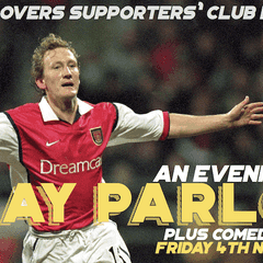 Arsenal 'Invincible' Ray Parlour comes to Welton Rovers as Guest Speaker