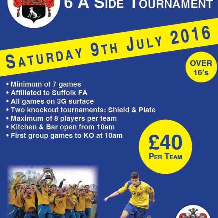 AFC Sudbury 6 A Side Tournament