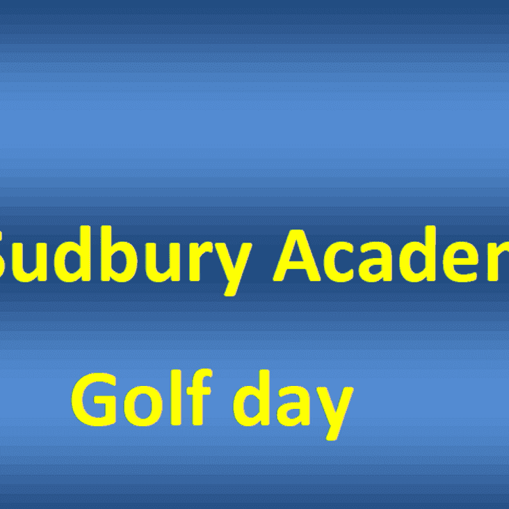 AFC Sudbury Academy Golf Day