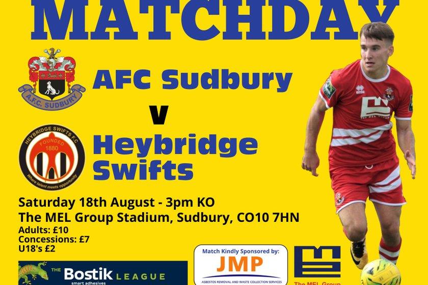 Match Day Preview - Heybridge Swifts