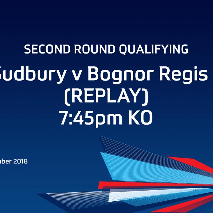 Tonight - FA Cup Replay - Bognor Regis Town<