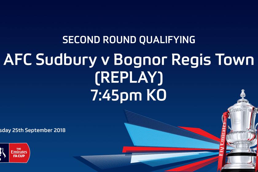 Tonight - FA Cup Replay - Bognor Regis Town