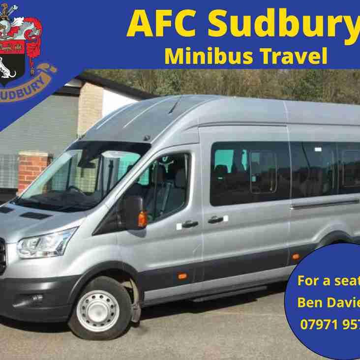 Minibus Travel to Aveley - Good Friday 19th April