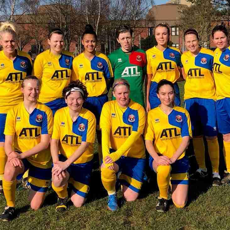 Cup Success for AFC Ladies