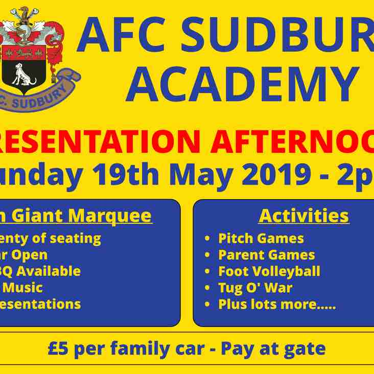 Academy Presentation - This Sunday