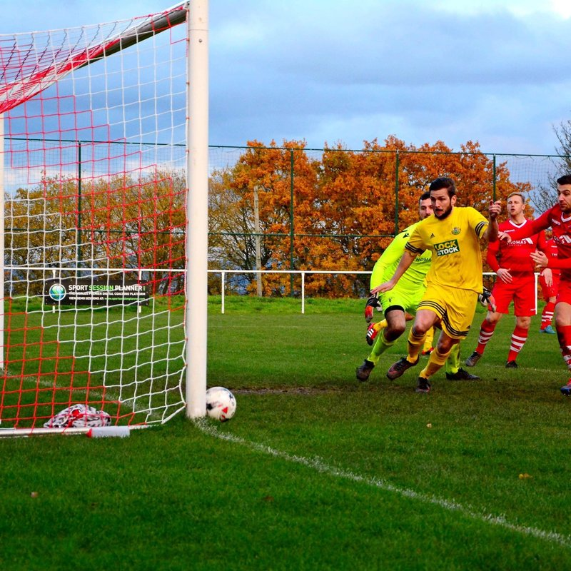 Ten men Denbigh deservedly progress to Third Round of Welsh Cup