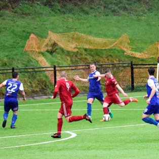 League leaders beat Town in atrocious weather conditions