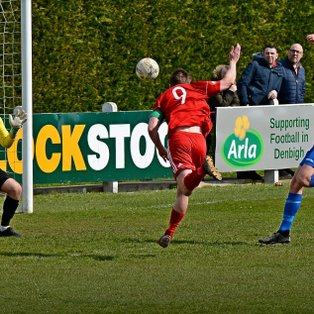Robbo Hat Trick gives Denbigh hope of avoiding the drop