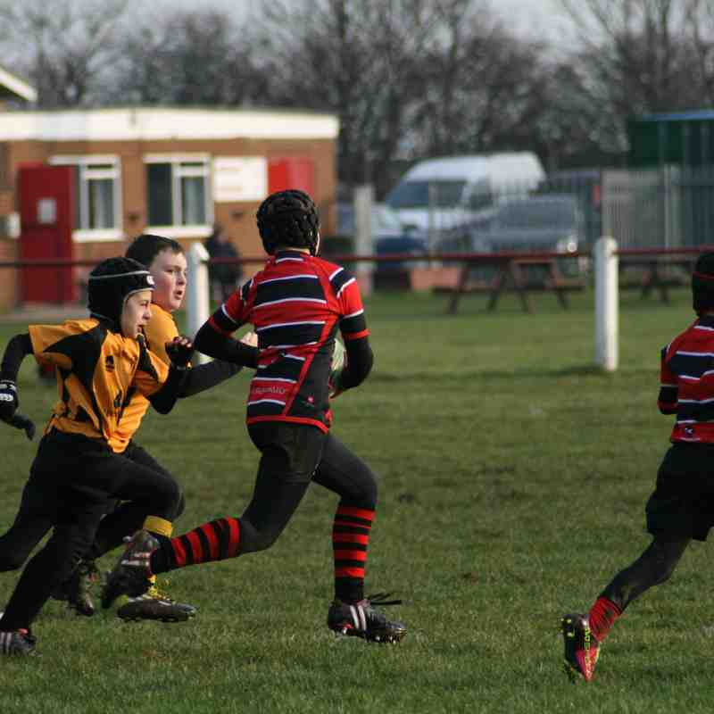 Under 9's at Redcar