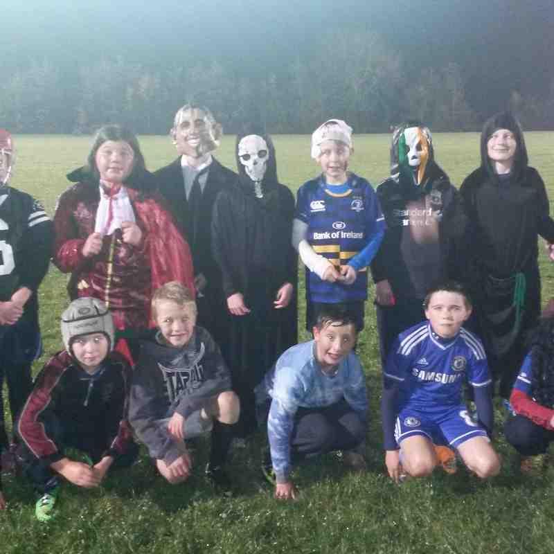 Under 11s - Halloween Training