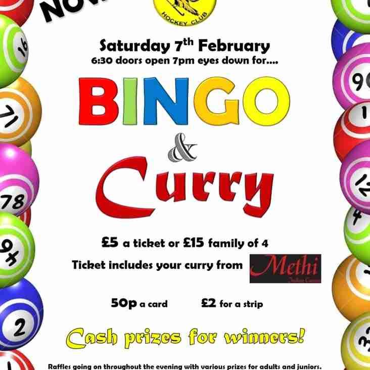 Bingo and Curry