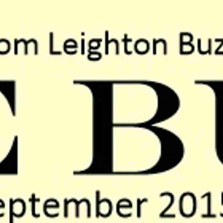 LBHC Newsletter - September 2015