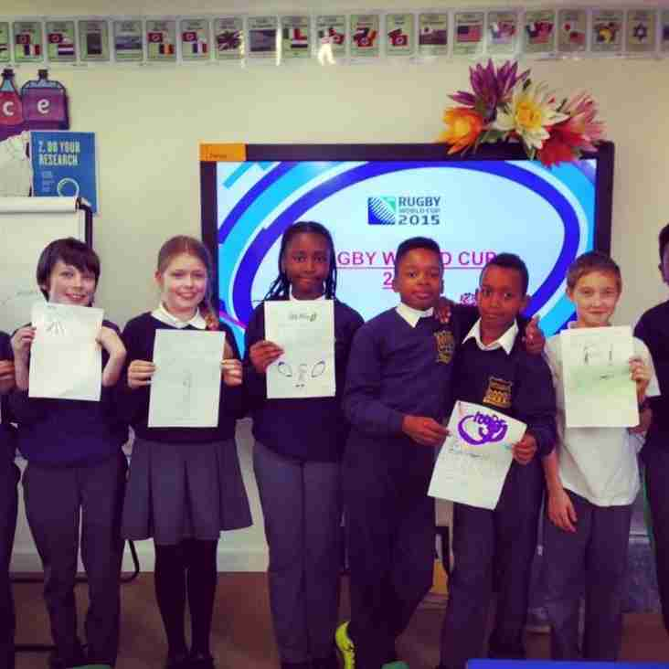 RWC2015 fever hits local Primary Schools