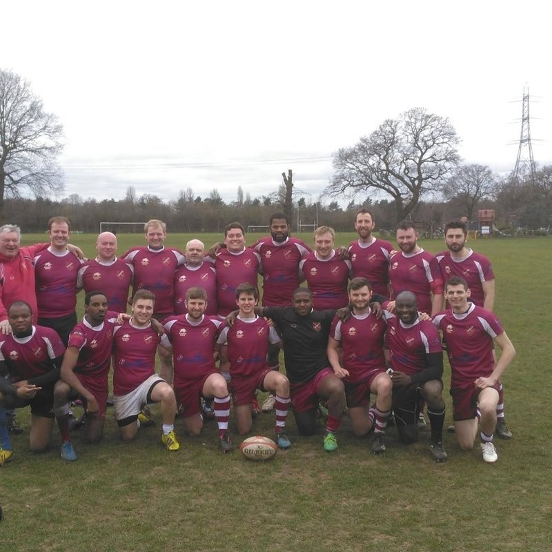 2nd XV The Scorpions lose to Effingham & Leatherhead 2nd XV 50 - 12