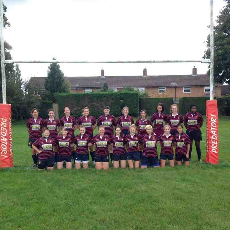 The Ladies 2nd Team at Welwyn