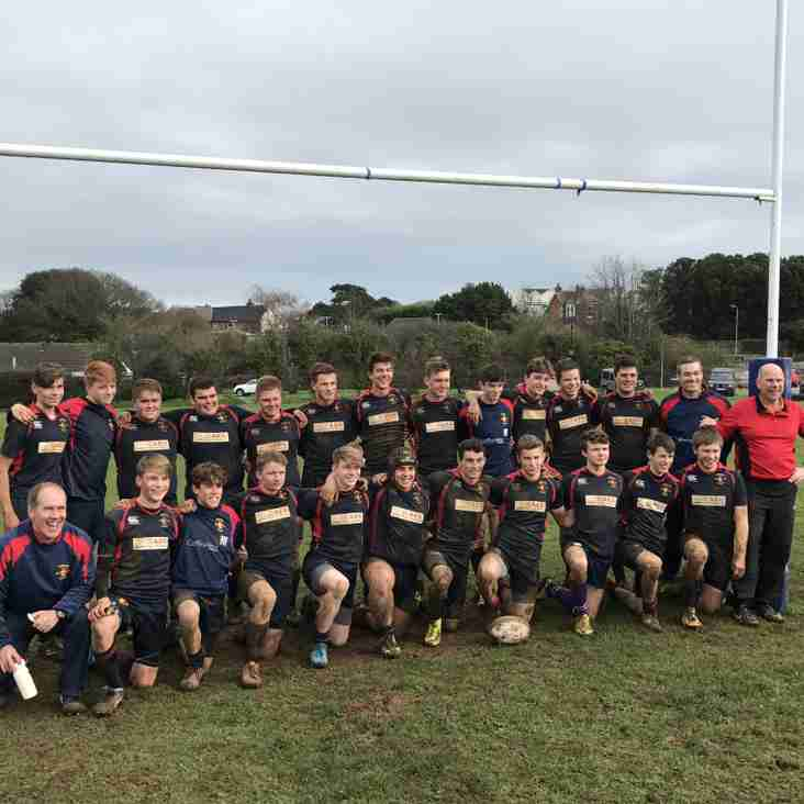 The under 16s have another great weekend