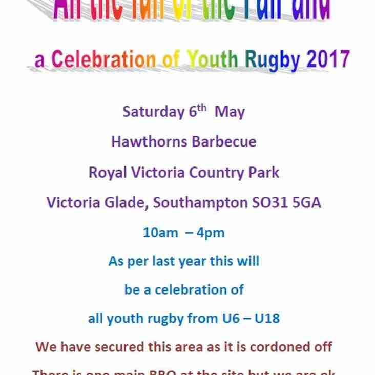 Youth Rugby Celebration