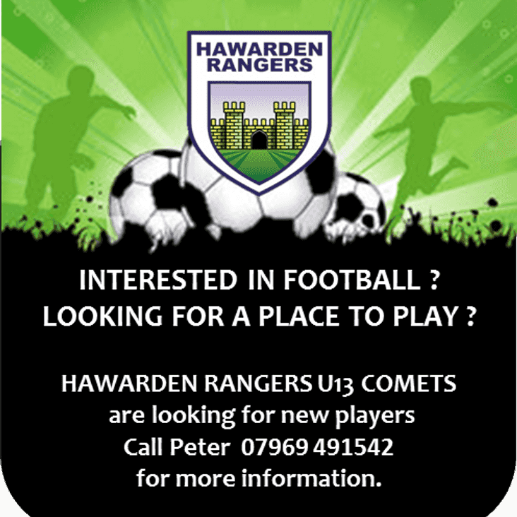 UNDER 13 COMETS are recruiting.