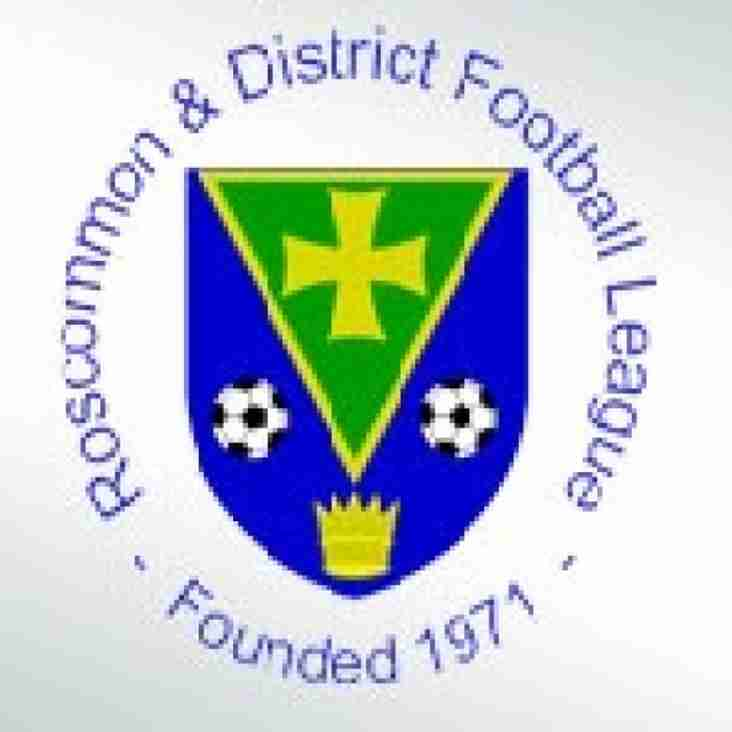 Roscommon & District League Round-Up 23rd September 2018