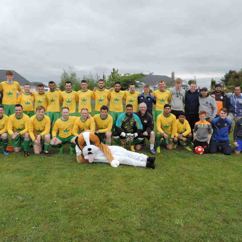 Premier Division, Division Two & First Division Cup Final