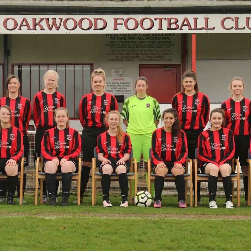 Oakwood Ladies beat AFC Varndeanians 2 - 3