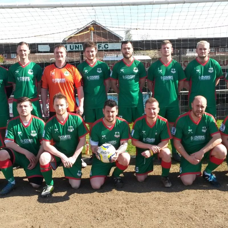 Sunday lose to Ash United Football Club Sunday Select 5 - 2