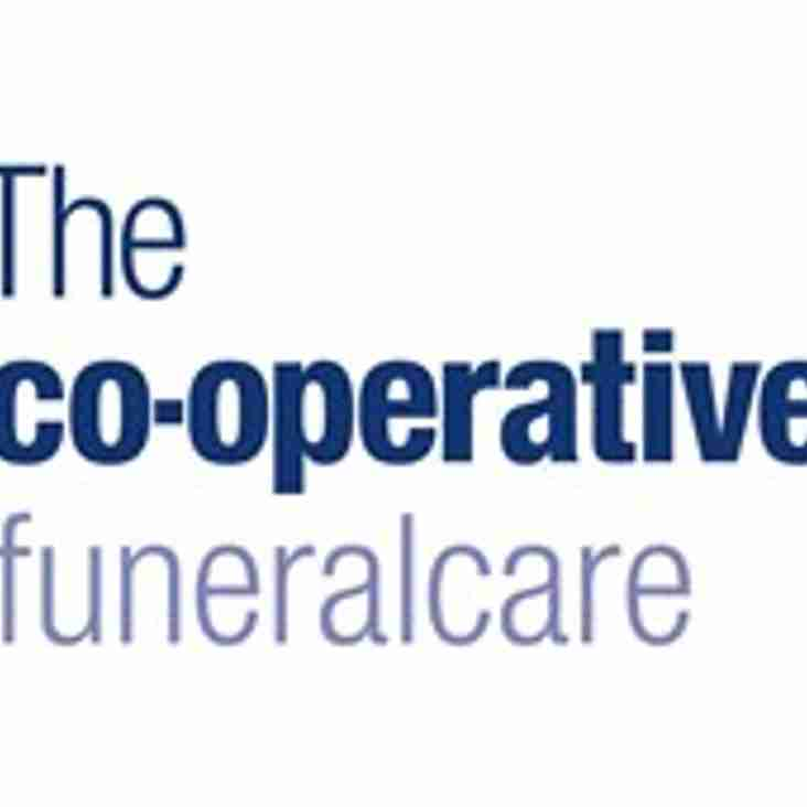 New Saturday Reserve Kit Sponsors - The Co-operative FuneralCare