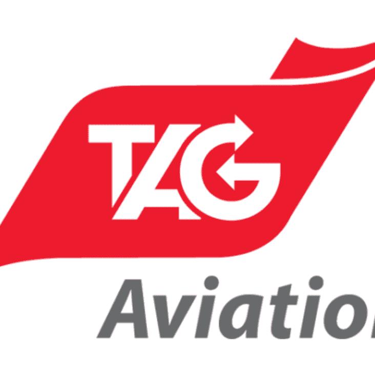 New  U10's Flames Kit Sponsor - TAG Aviation