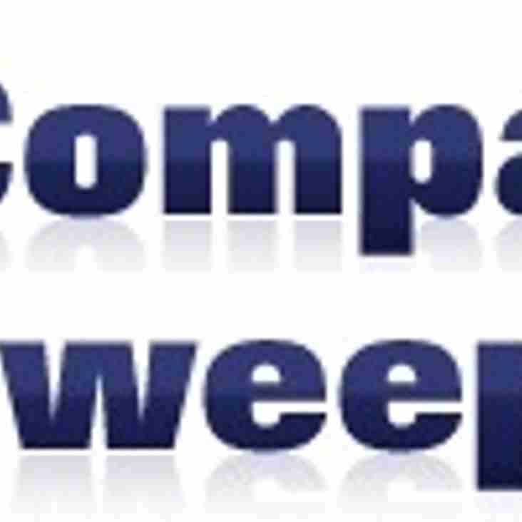 New U12's Equipment Sponsor - Compact Sweepers