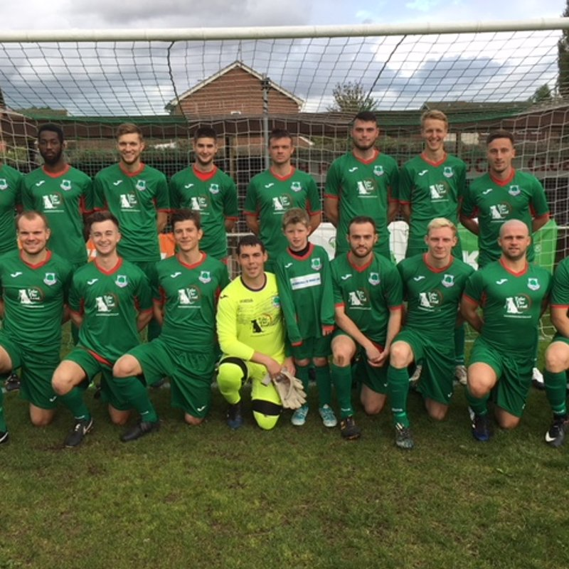 1st Team lose to Sheerwater 1 - 3