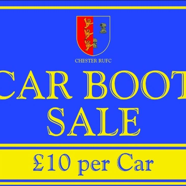Car Boot Sales @ Chester RUFC<
