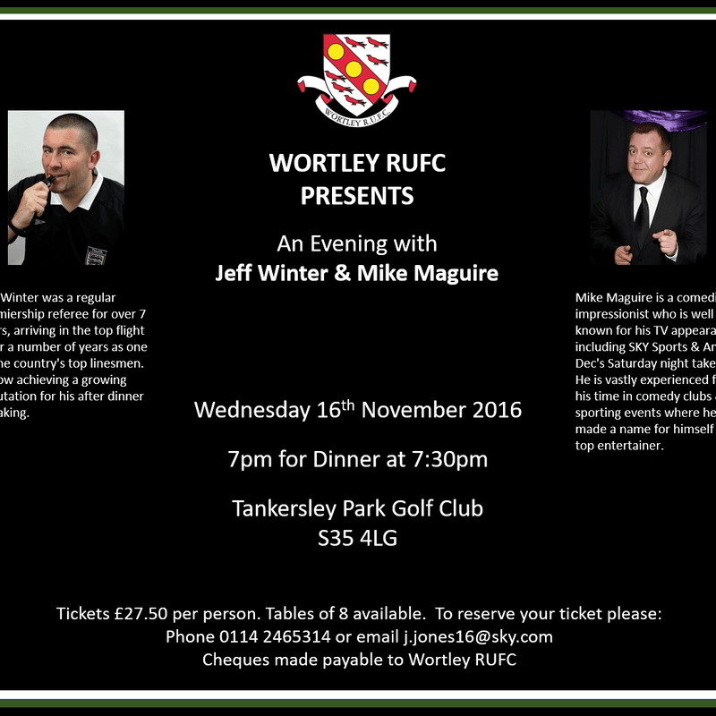 An Evening with Jeff Winter and Mike Maguire