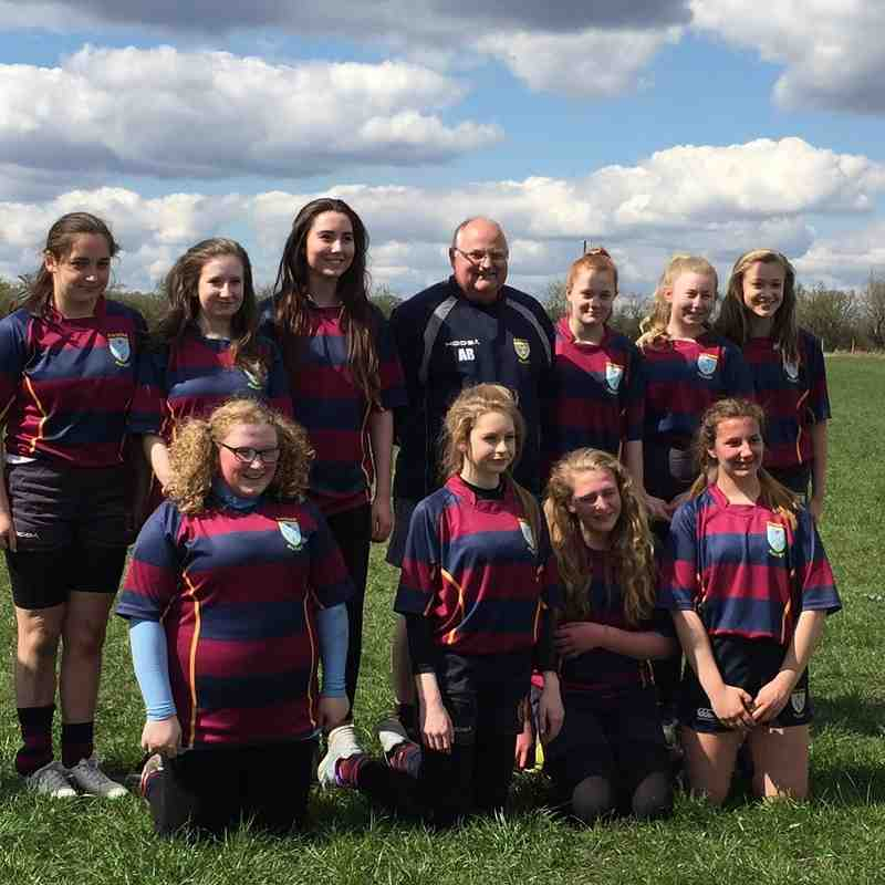 Girls league winners 2016