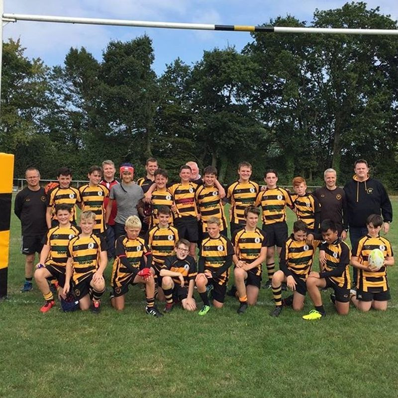Under 14's lose to Harlow 48 - 7
