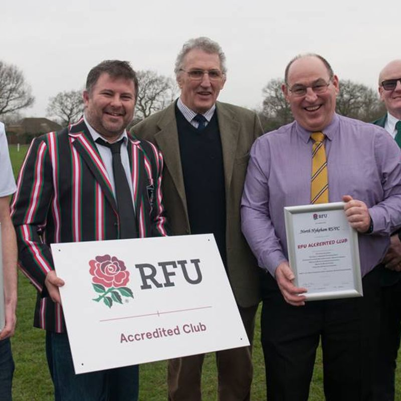 North Hykeham Awarded RFU Club Accreditation