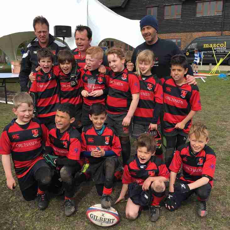 Heath U9s run out winners at Lewes Festival
