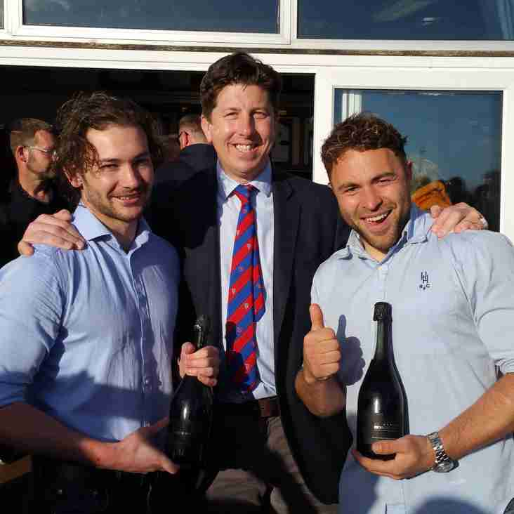 Individual performances recognised as Heath 1st XV win again