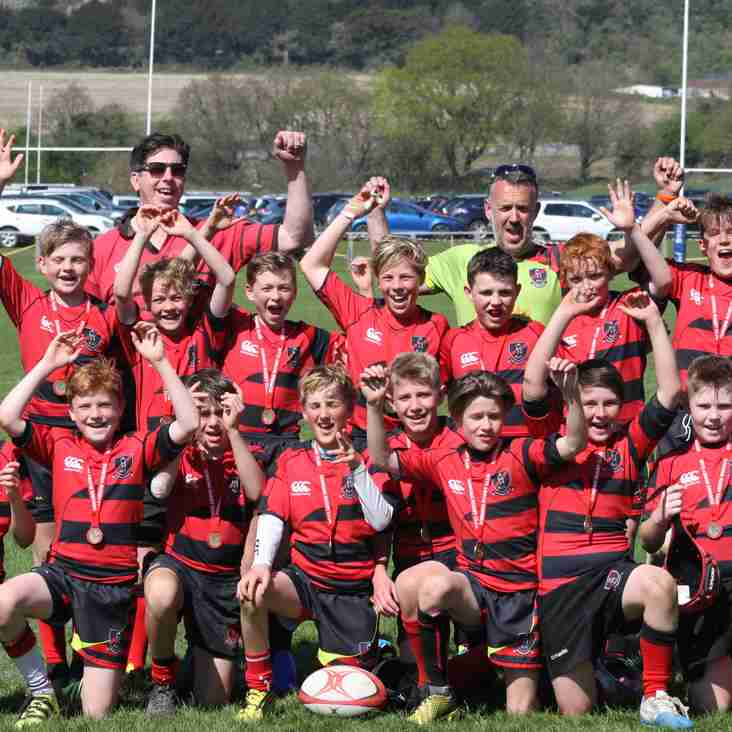 Heath Under 12s emerge winners at Dorking Tournament