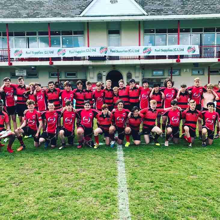 Heath U15s enjoy tour to Jersey