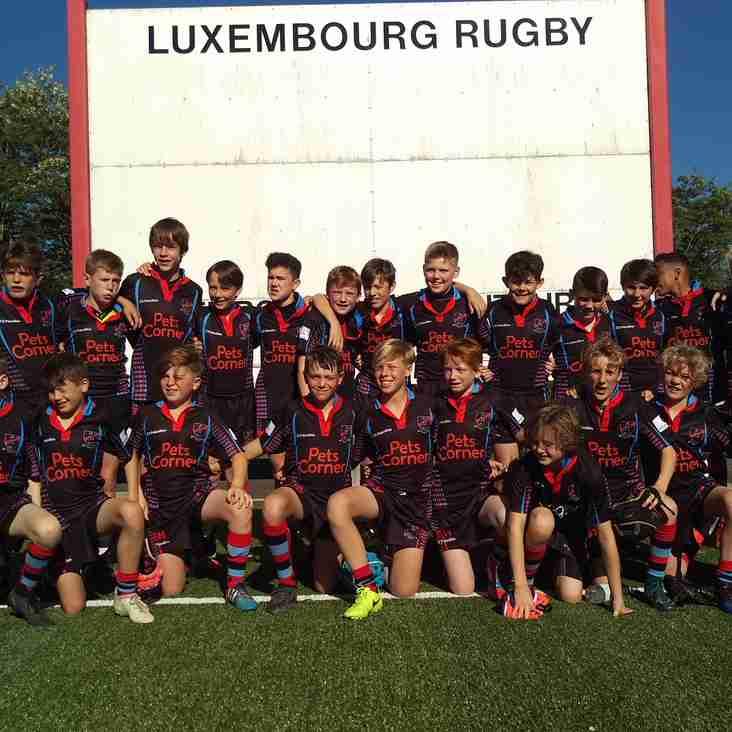 Heath Under 12s Win in Luxembourg