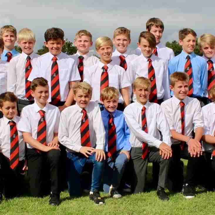 Heath Under 13s mark graduation to junior rugby
