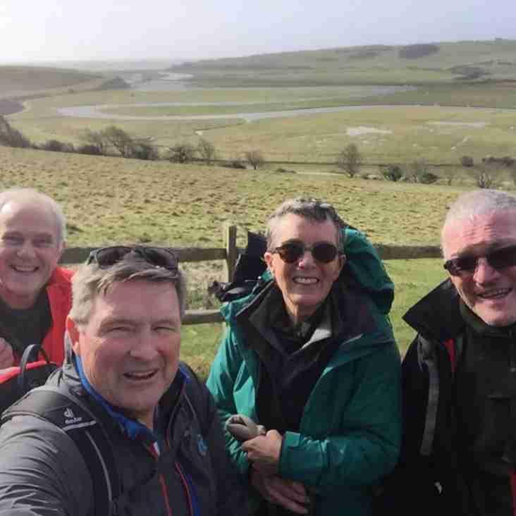 Brendan Foster Joins Heath Members on Compostella Way Fund Raiser