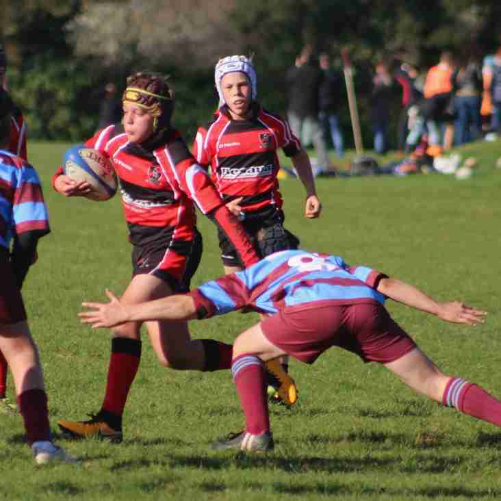 Heath U13s win first league matches of the season