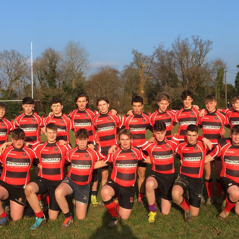 Strong first half performance from Heath Colts but Brighton win cup encounter